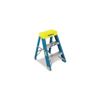 Werner 6002 Fiberglass Step Stool, 2 feet.