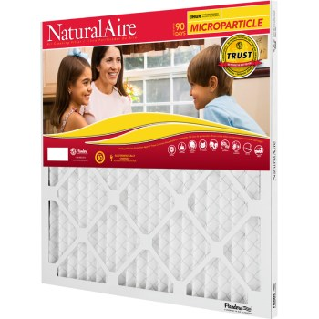"AAF Flanders 85256.012020 Naturalaire Microparticle  MERV 10 Air Filter ~ 20"" x 20"" x 1"""