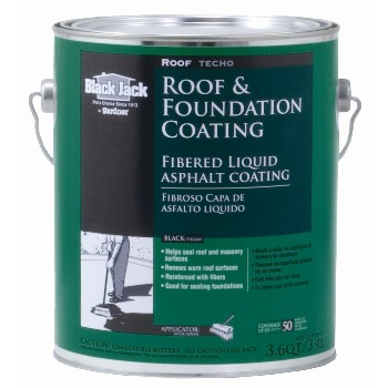 Roof & Foundation  Fibered Coating ~  Gallon (3.6 Qts)