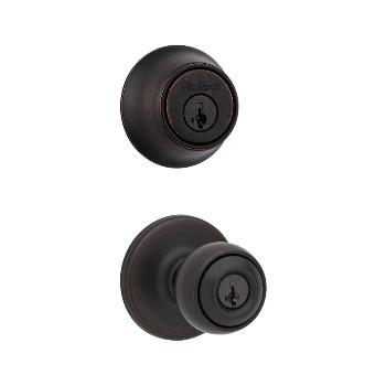 Kwikset 96900-333 Polo Combo Lockset ~ Venetian Bronze