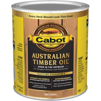 Australian Timber Oil - Natural ~ 1 Quart