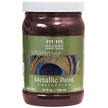 Metallic Paint, Black Cherry 32 Ounce