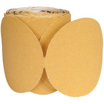 Norton 66261149842 Sand Disc Roll, 80 Grit ~ 6""
