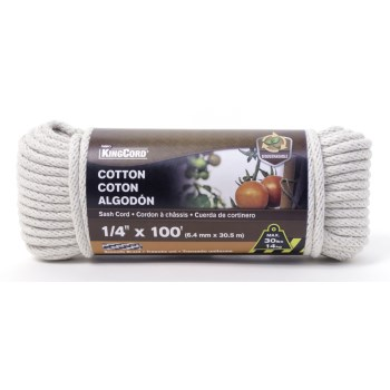 1/4x100 Cotton Rope