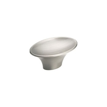 Knob - Satin Chrome Finish - 2 x 1 inch