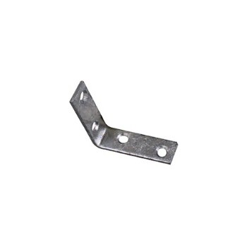 "National 113134  Zinc Corner Brace ~ - 1-1/2"" x 5/8 """