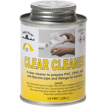 8oz Clear Cleaner