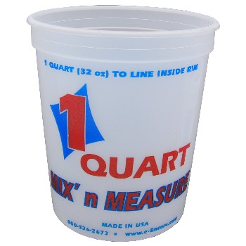 Mix N' Measure Container, Plastic ~ Quart