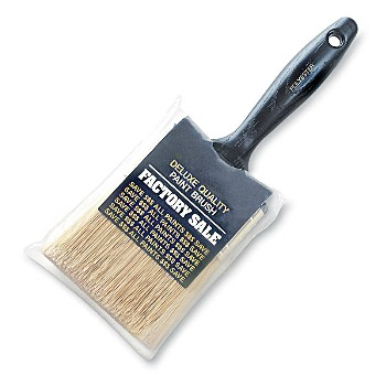 "Synthetic Brush, Promo Value ~ 3"" W x 11/16"" Thick"
