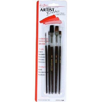 Linzer  A555 Artist Brush Set ~ 5 Piece