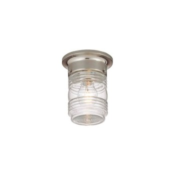 Outdoor Ceiling Light Fixture, Jelly Jar