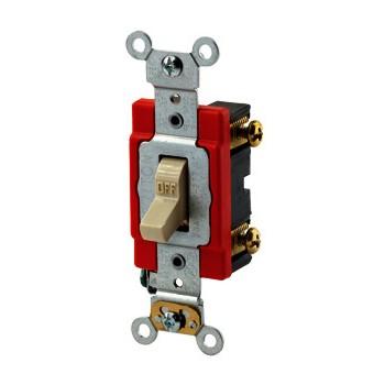 Leviton 381-1222-21 Ivory 277v Switch