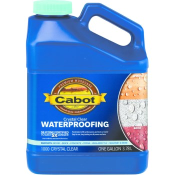 Waterproofing Tones Sealer,  Clear ~ Gallon