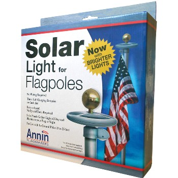 Flag Pole Solar Light