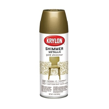 Shimmer Metallic Finish,  Gold  ~ 11.5 oz Cans