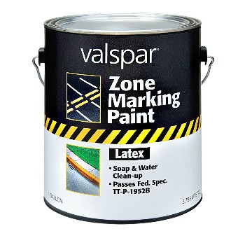 Zone Marking Paint - White ~ One Gallon