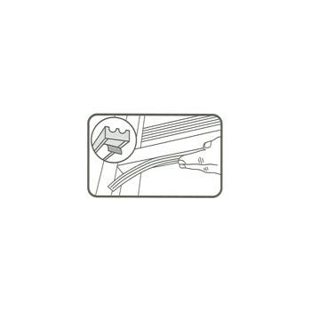 "02618 M-D Window /& Door RUBBER WEATHERSTRIP TAPE Draft Seal White .375/"" x 17/'"