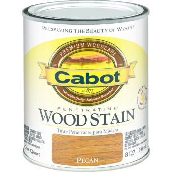 Interior Wood Stain,  Pecan ~ Quart