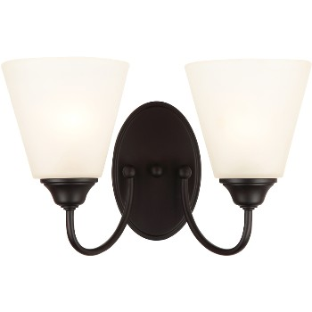 Galveston Wall & Bath Fixture ~ Black