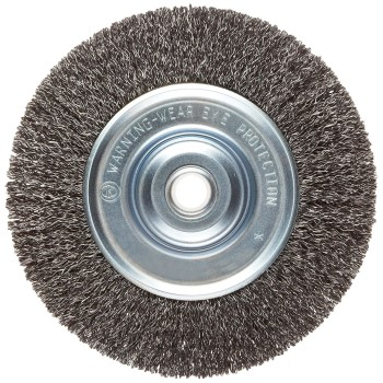 Vortec Pro Medium Face Wire Wheel Brush ~ 6""