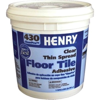 Ardex/henry 430gl Clearpro™ Clear Vct Floor Adhesive, Clear ~ Gallon