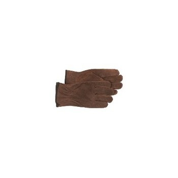 Split Leather Gloves - Unlined - Large
