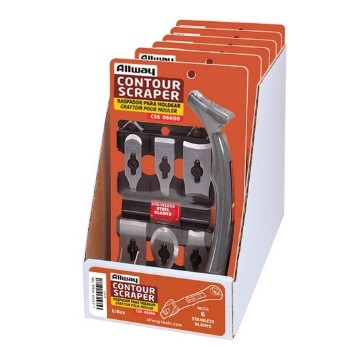 Contour Scraper Kit with 6 Blades