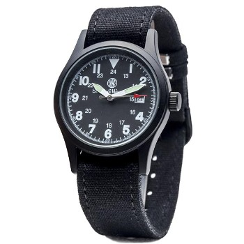 Military, Black Face, 3 Interchangeable Straps
