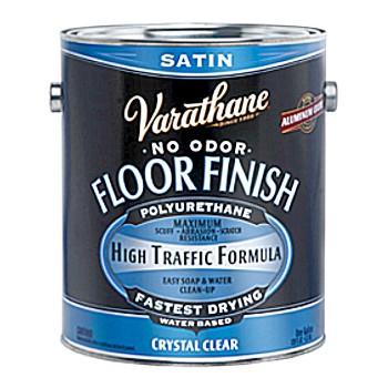 Crystal Clear Wood Floor Finish, Satin  ~ One Gallon