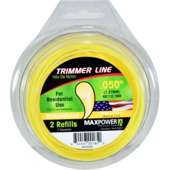 Maxpower Parts 333050 .050 Round Trimmer Line