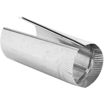 "Gray Metal Prods 6-26-300 Steel Furnace Pipe, Galvanized ~ 6"" x 24"""
