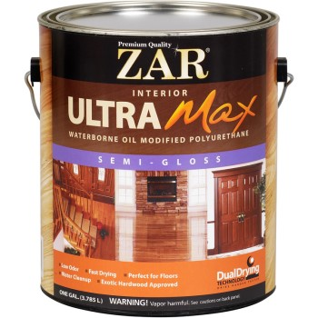 ZAR Ultra Max Polyurethane, Semi-Gloss ~ Gallon