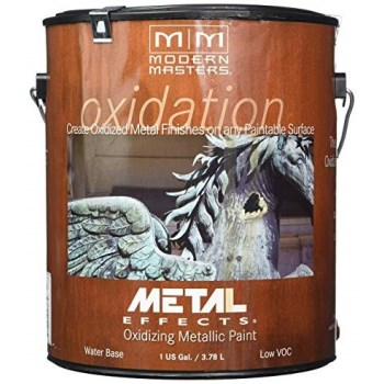 Metal Effects Reactive Paint, Iron ~ Gallon