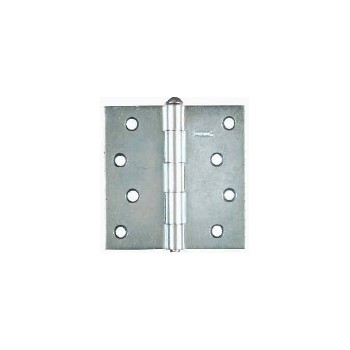Zinc Loose-Pin Hinges, Visual Pack 504 4 x 4 inches