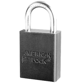 "Padlock, Aluminum - 1.5"" W with 1"" Shackle"