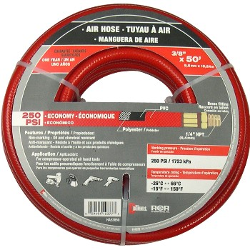 3/8in. X50ft. Air Hose