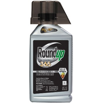 RoundUp Max Control Weed Killer ~ 32 oz