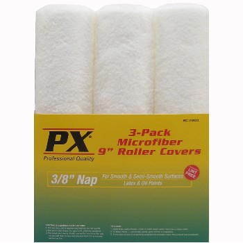 Microfiber Roller Cover, 9 x 3/8 inch