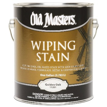 Wiping Wood Stain, Golden Oak ~ Gallon
