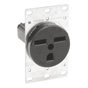 Flush Mount Receptacle ~ 30 Amp - 250 Volt