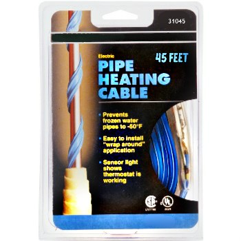 Pipe Heating Cable, 45 Feet