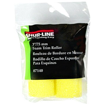 Foam Trim Mini-Roller Refill - 3""