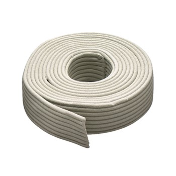 "Replaceable Caulking Cord Weatherstrip, Gray ~  1/8"" x 90 Ft"