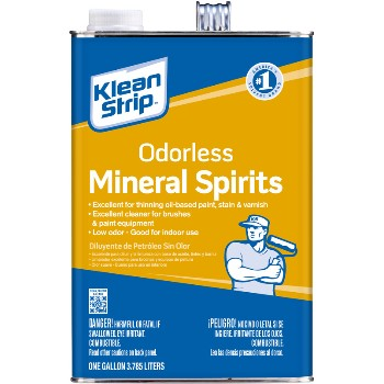 Wm Barr  Mineral Spirits, Odorless ~ Gallon