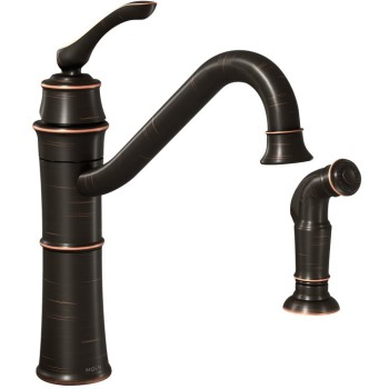Kitchen Faucet With Spray, Oil Rubbed Bronze