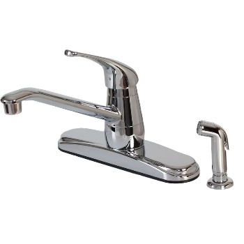 Kitchen Faucet w/ Spray ~ Chrome
