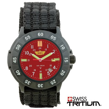Protector Tritium, Red Face, Nylon Strap