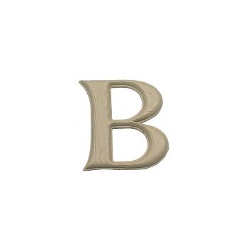 House Letter B, Simulated Wood-Grain Letter ~ 7""