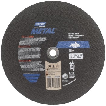 Metal Cutting Wheel ~ 10in.