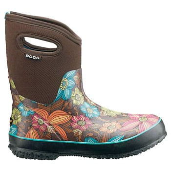 Waterproof Women's Rubber Boot ~ Size 8